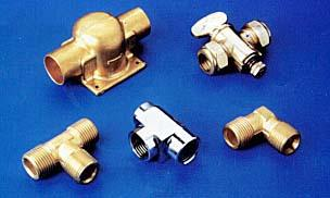 BRASS PARTS Hot Stamped Pneumatic and Hydraulic BRASS PARTS