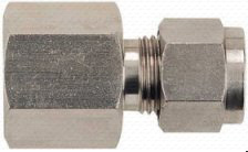 S. S. Stainless male  female coupler  Compression Coupler Stud