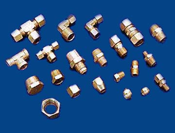 Brass Compression Fittings Plumbing Compression Fittings Brass Pipe Compression Fittings
