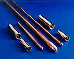 Copper Bonded Earth Grounding Lugs Grounding rods Ground Rods