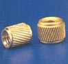 BRASS HELICAL MOLDING INSERTS MOLDING NUTS