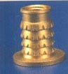 BRASS INSERTS FOR WOOD AND PLASTIC