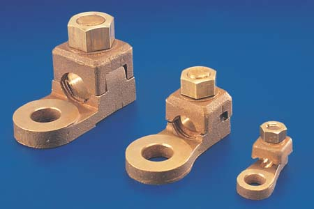 Copper Lug / Bronze Lug  Bolted Lug Copper Alloy Cast Lug